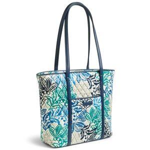 Vera Bradley Small Trimmed Vera Tote Bag SANTIAGO